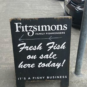 Fitzsimons supply the excellent fish