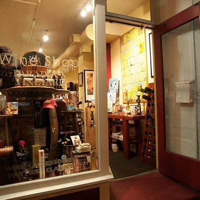 The view into the store from Market Street. Come on in!
