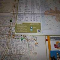 Mapas y folletos de la Oficina de Turismo de Salta