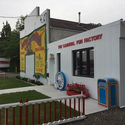 Exterior view of the Carnival Museum