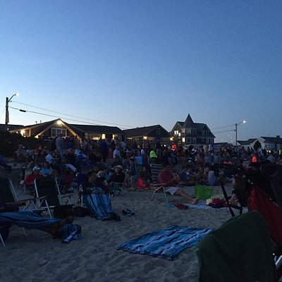 Filled for the July 4th fireworks.