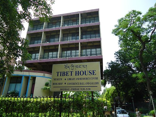 The Tibet House on Lodhi Road.