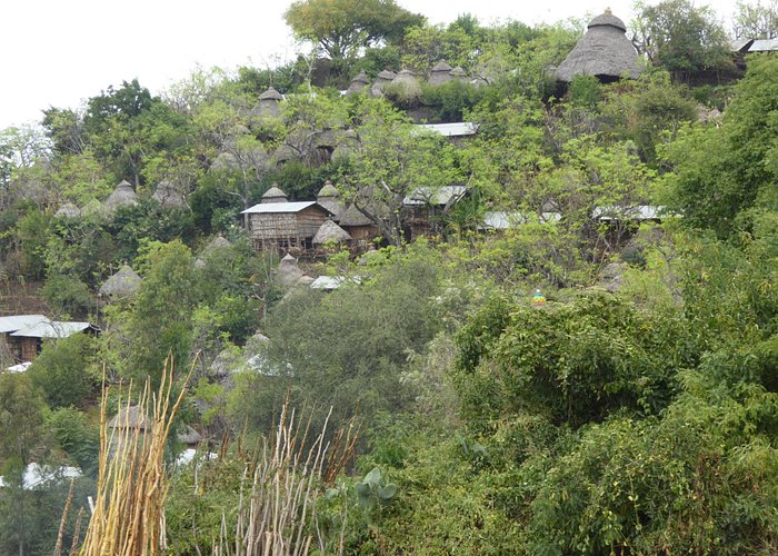 """Konso """"new"""" town (150 years old)"""
