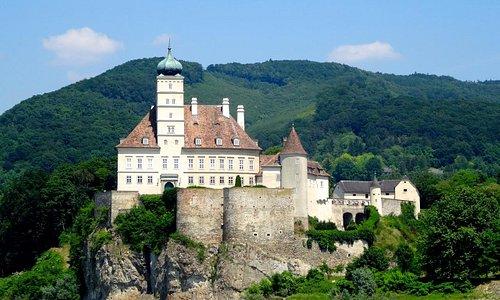 Beautiful Schloss Schoenbuehl on the Danube.