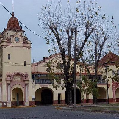 Fachada del Museo Ferroviario Bonaerense de Avellaneda