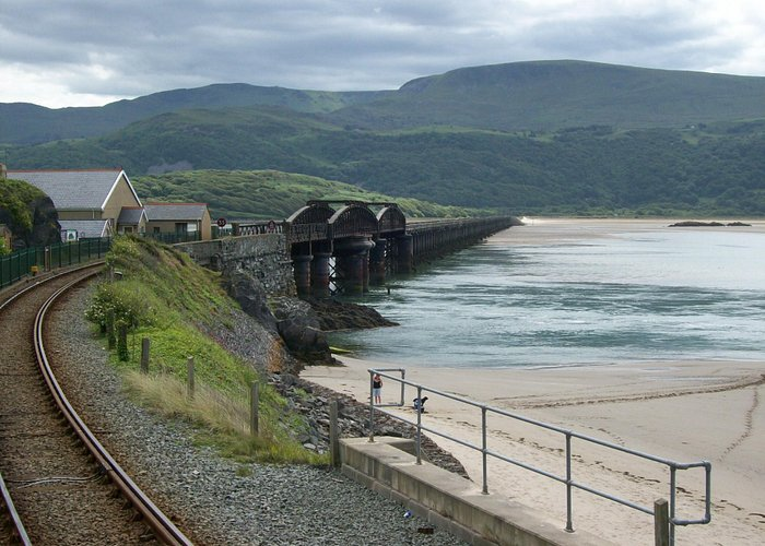 Railway bridge Barmouth