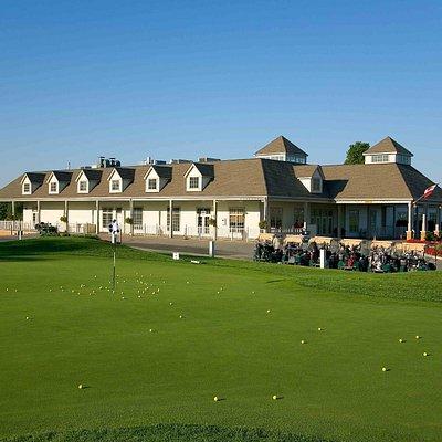Wooden Sticks Golf Clubhouse