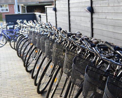 Tip top klargjorte cykler