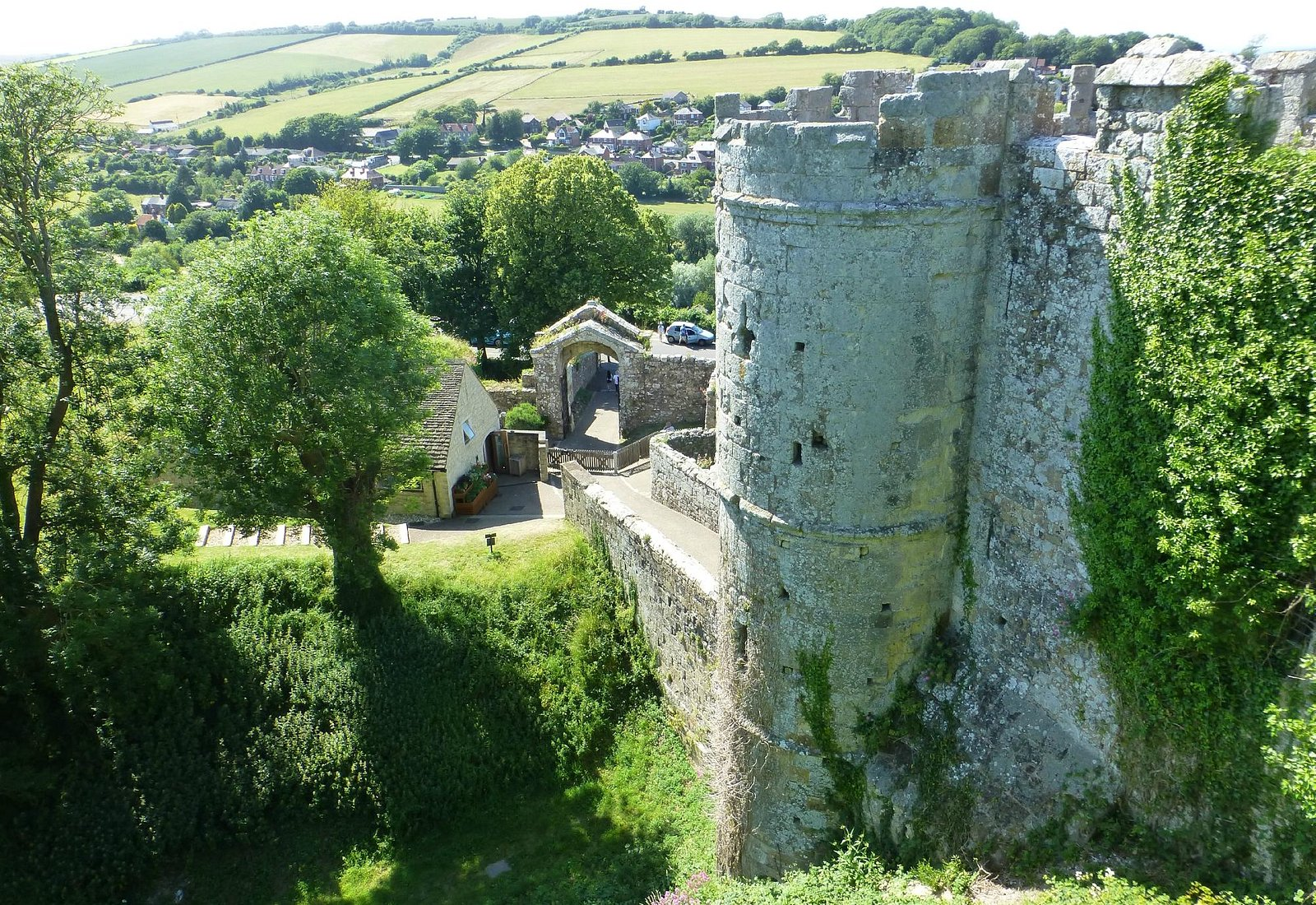 BATTLEMENT VIEW