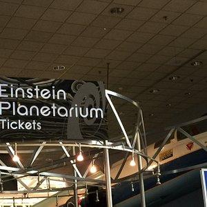 Einstein Planetarium Ticket Booth