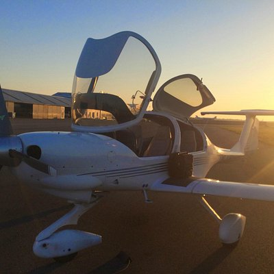 Retour de vol pour le DA40