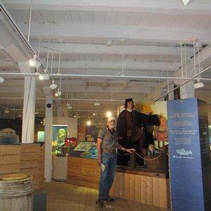 John Cabot and sidekick  at Ryan premises