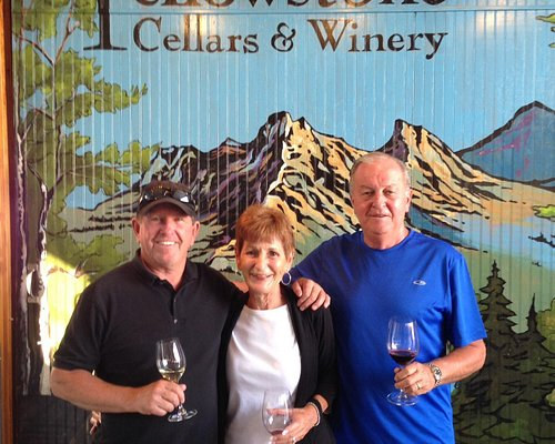 Our wine tour.
