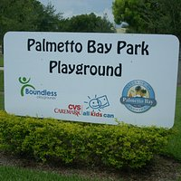 Playground Entrance Sign