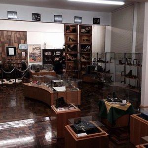 Entrada do Museu e detalhe da exposição