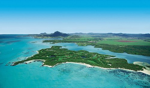 Ile aux Cerfs Golf Club Aerial View