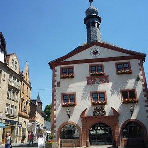old city hall on Marktplatz