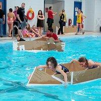 School activities at the Marathon Port Hole Pool