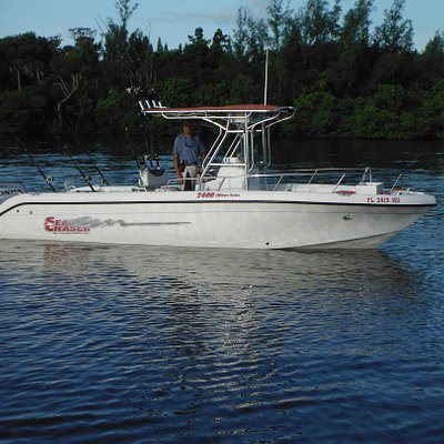 24 foot fully equiped for fishing near and off shore waters
