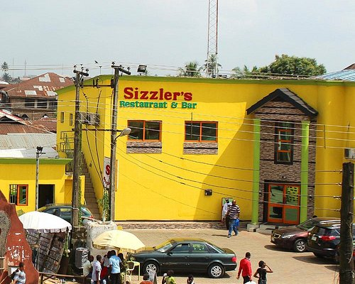 Il fastfood di Benin City center
