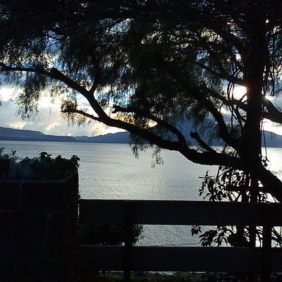 Agradable Visual Desde la terraza del Restaurante.