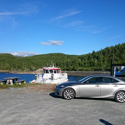 Parking near by the boat is no problem