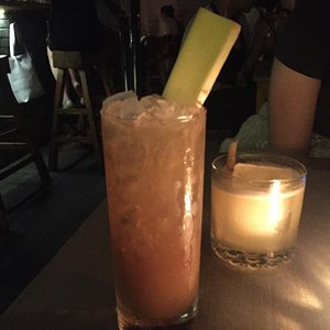 Ginger mocktail and the Penicillin