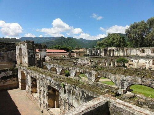 Convento Santa Clara, view from the upper level