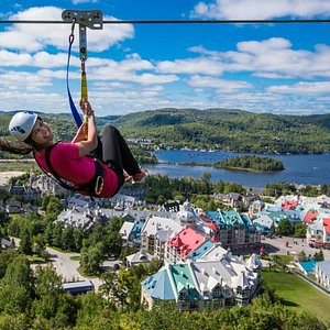 The best view in Tremblant