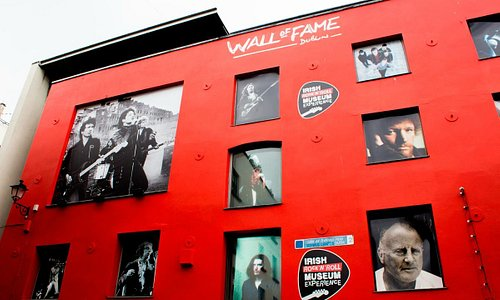 Wall of Fame - A celebration of the greatest musical talent in Dublin