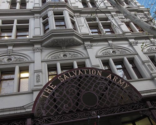 Entrance to the Salvation Army