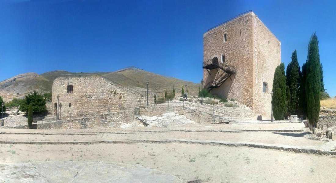 Panorámica Castillo de Jódar