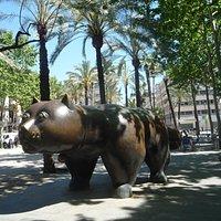 Cat, Fernando Botero