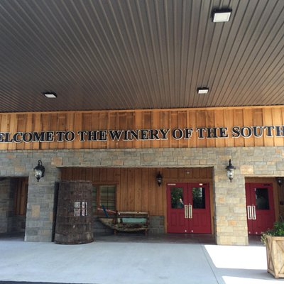 We loved everything about the winery...So spacious, great merchandise and even better wine.