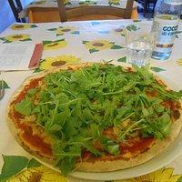 Pizza tonno - rucola