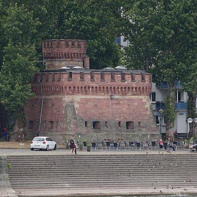 Caponniere, Mainz