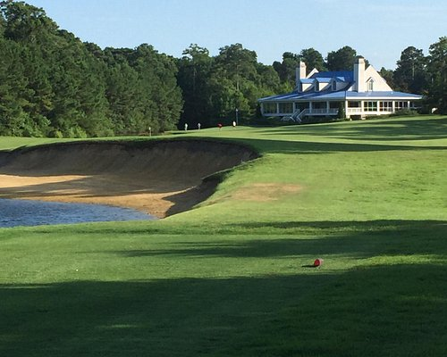 Just one of 18 beautiful golf holes