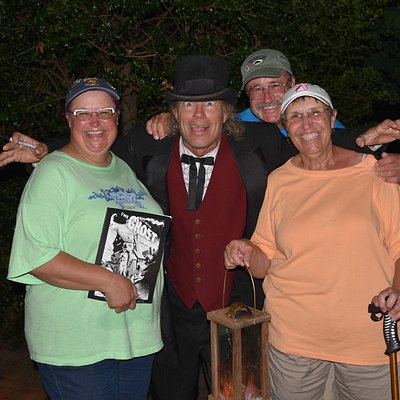 Fun evening with Haunting Tales Lexington's Ghost Tour