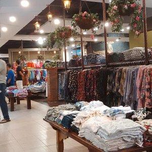 display baju