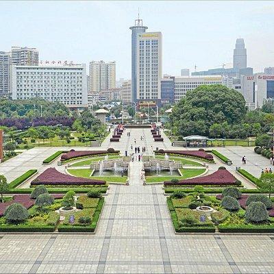 le jardin du musée du Hubei