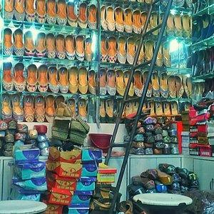 A footwear shop in Katra Jaimal Singh Market, Amritsar