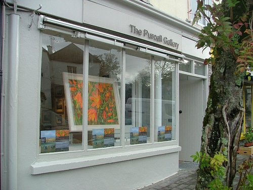 The Purcell Gallery Window