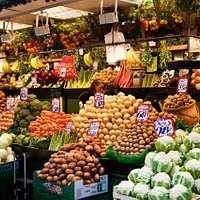 All the fruit and vegetables you need and under one roof!