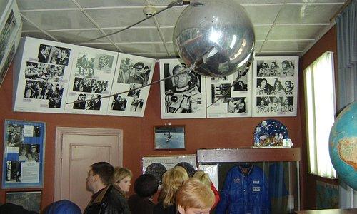 в музее космонавтики при планетарии