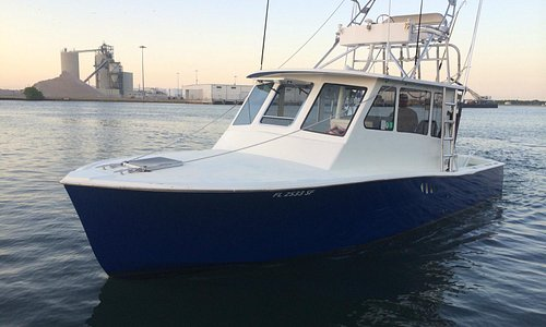 Port Canaveral Deep Sea Fishing Charters Aboard the 32' Get Down