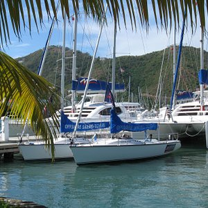 Offshore Sailing School at The Moorings base on Tortola