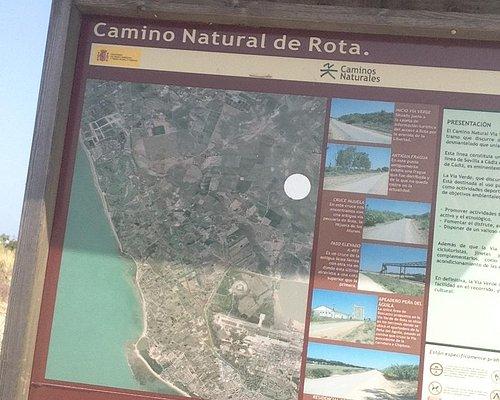 Camino Natural de Rota Map