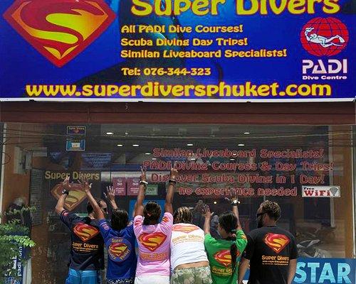 Super Divers PADI 5 Star Phuket Scuba Diving Centre