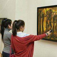 Выставка Художественного музея им. Сампилова