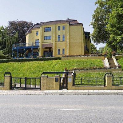Villa Esche Chemnitz, Ostfassade
